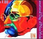 Gandhi UN Stamp