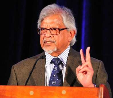Arun Gandhi at Palm Springs Convention Center