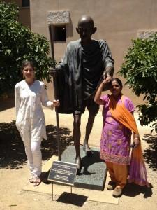 Soka University Gandhi Statue