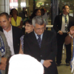 Mahatma Gandhi's grandson visited Salvador Bahia and Sao Paolo Brazil