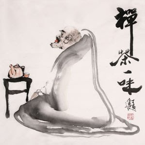 zen master and his tea
