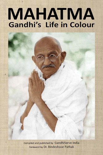 review mahatma gandhi's life in color