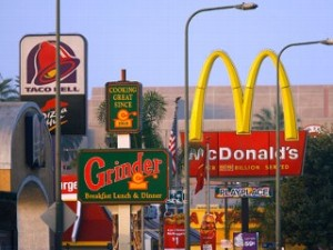 Fast Food Encroaches on Society