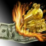 Pure US Fiat Money, Up In Smoke