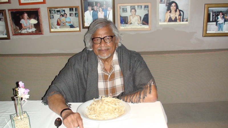 Arun Gandhi Dinner at Alfredo's Salvadore Bahia