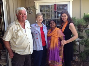 Anuradha Bhosale with The Bylunds