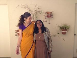 East Meets West Anaradha Bhosale & Lynnea Bylund