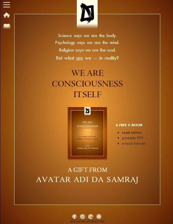 You are consciousness itself