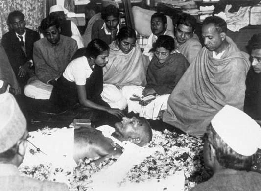 Gandhi's Funeral