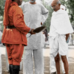 Gandhi's Life in Color